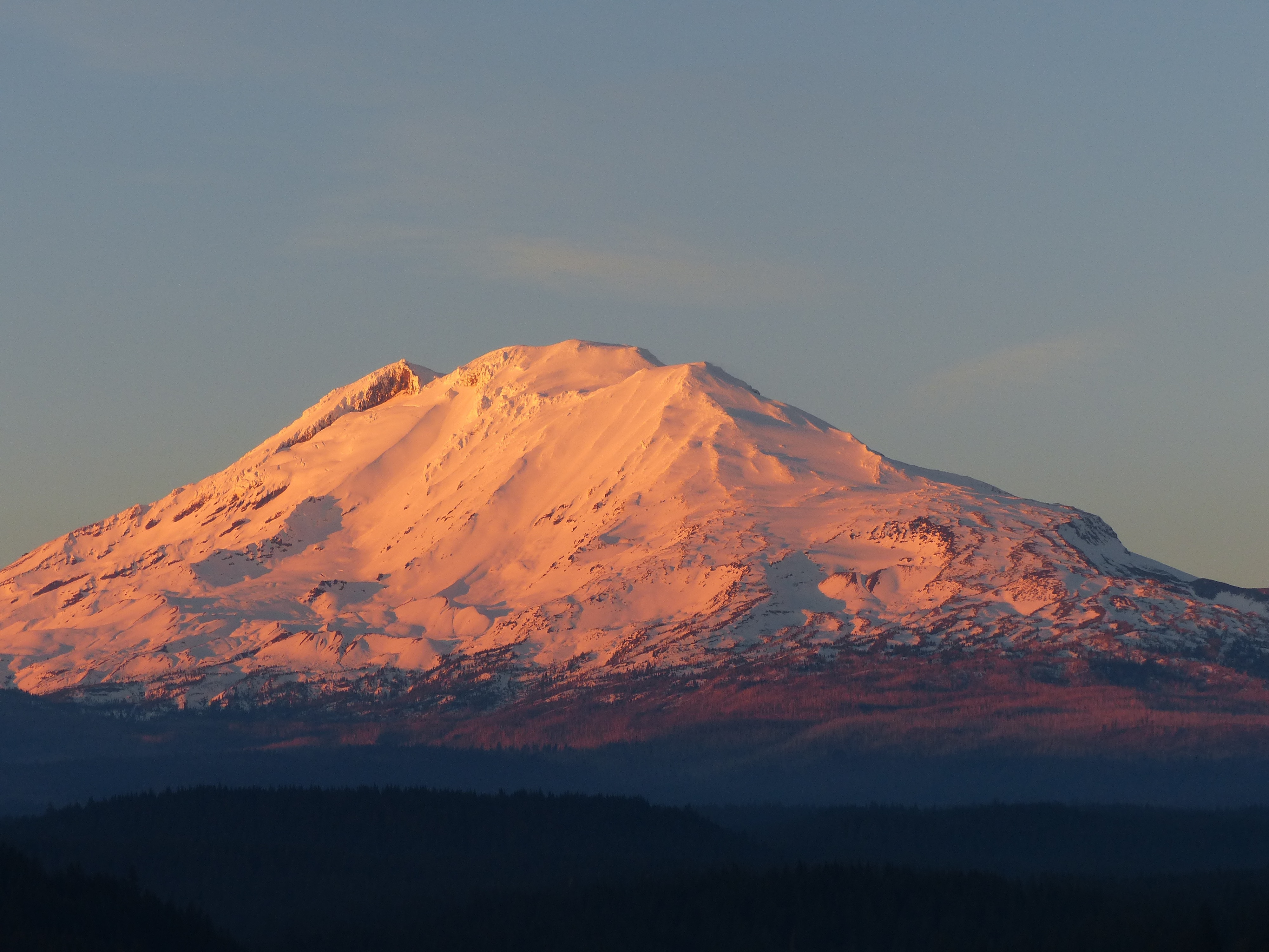 Mount Adams Sunset