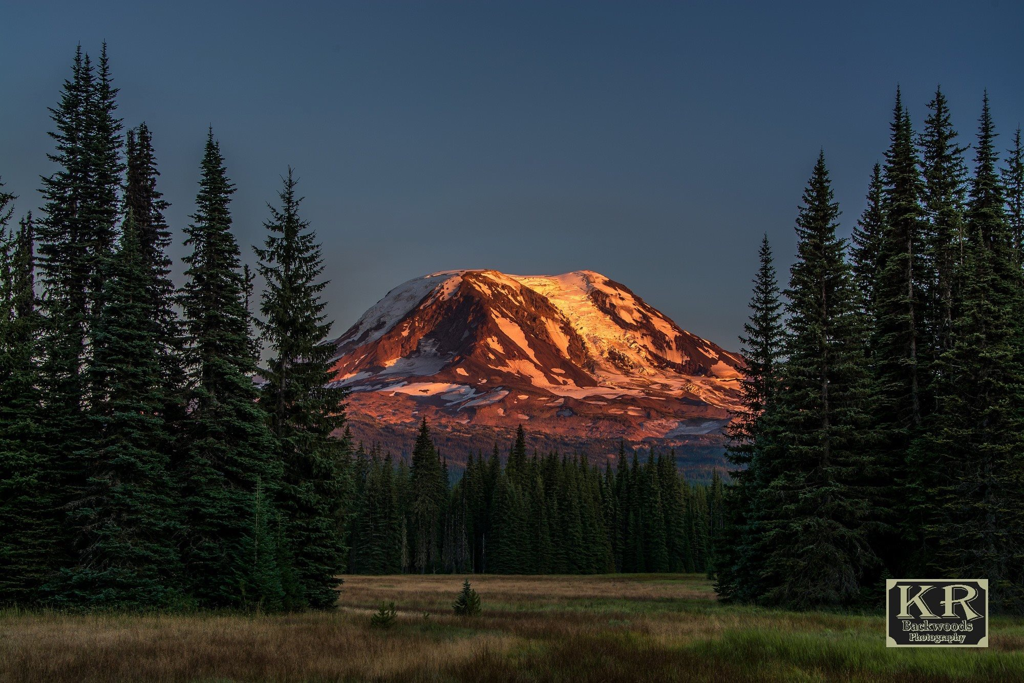 Mt. Adams Alpenglow