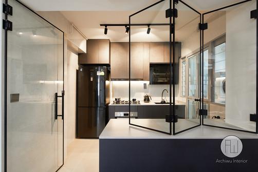 Semi-open Kitchen