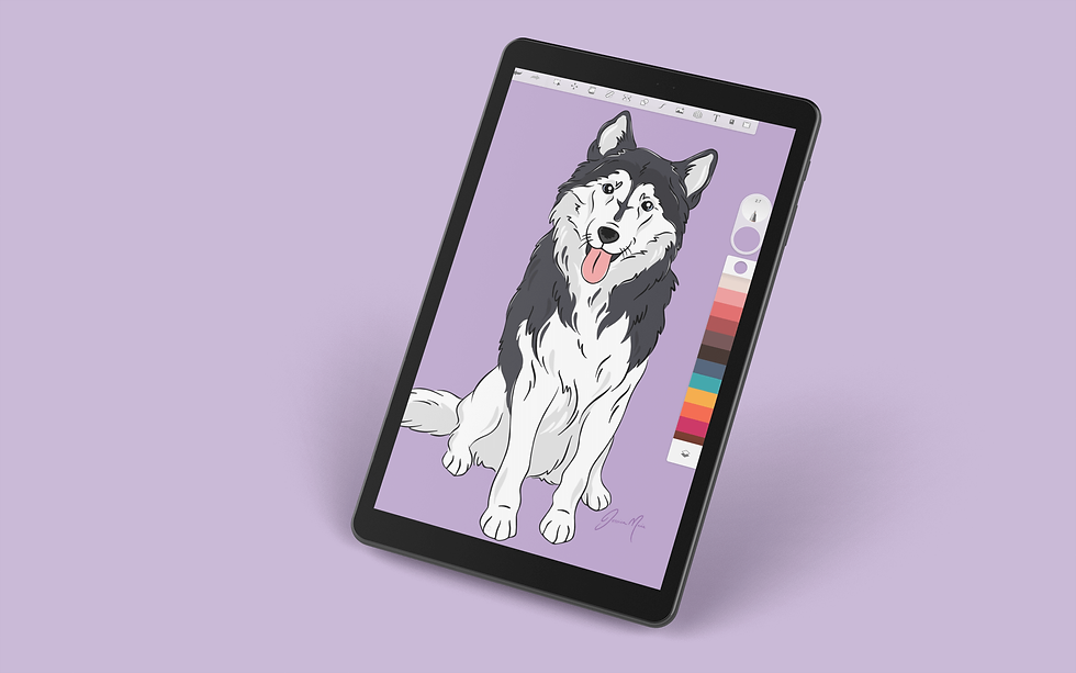 Pop Art Puppy Dogs - Husky.png