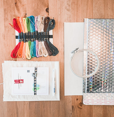Build A Boob Embroidery Kit