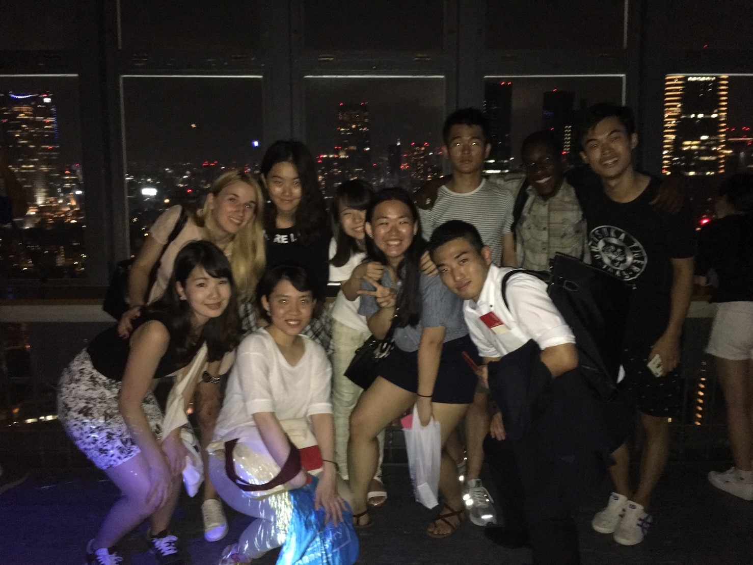 Group Photo @Tokyo Tower