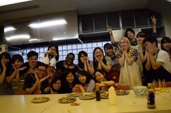 Group Photo with kawaii posing