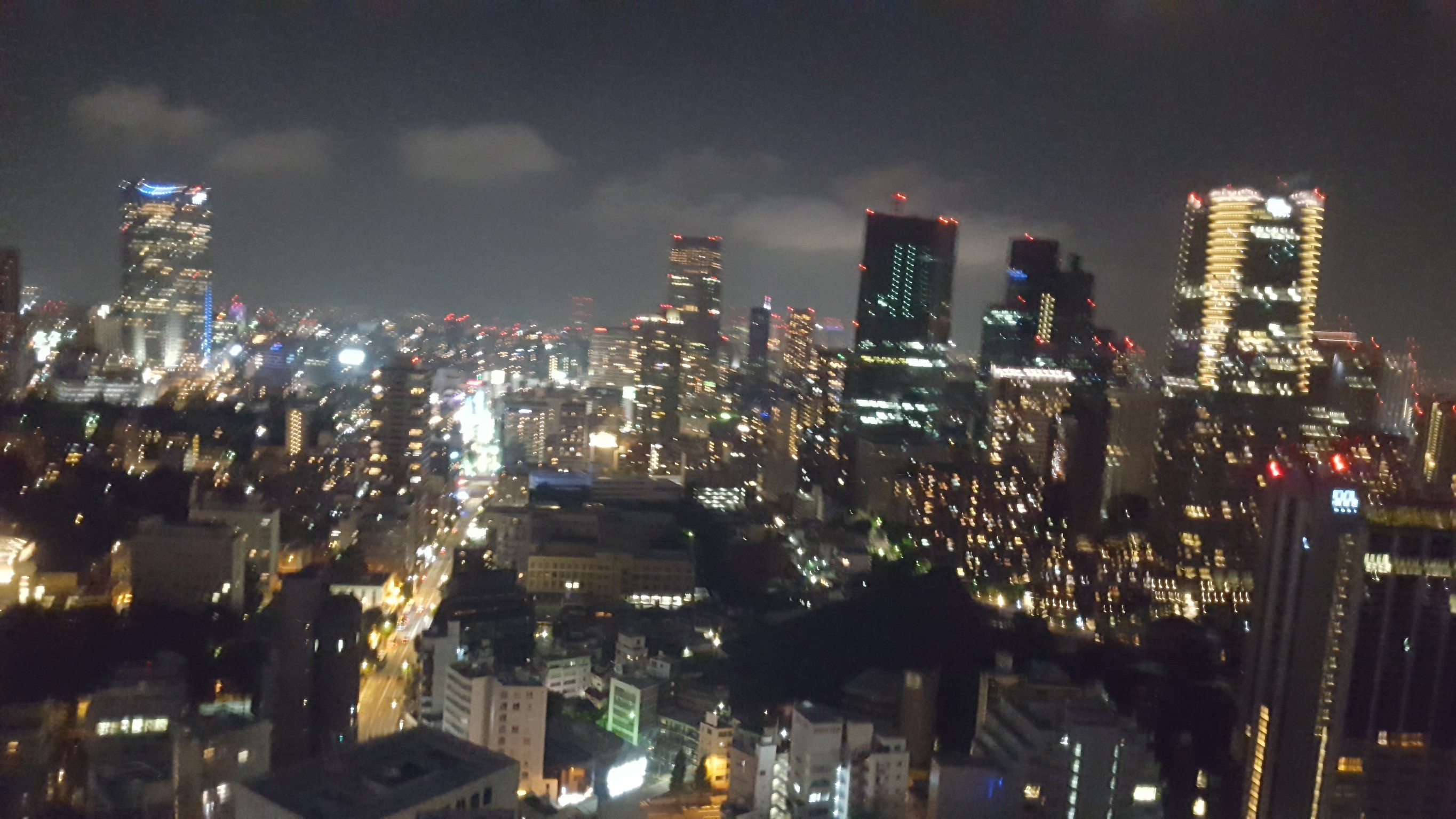 Nightview from Tokyo Tower
