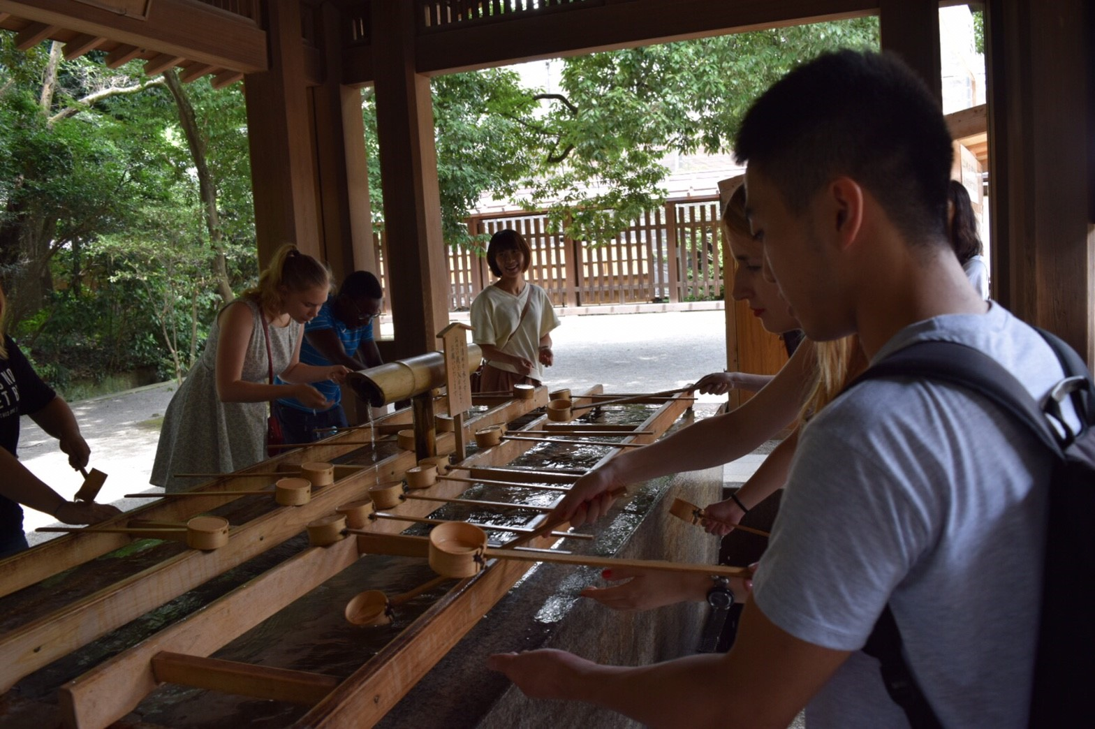 Meiji Jingu 2 (Purification)