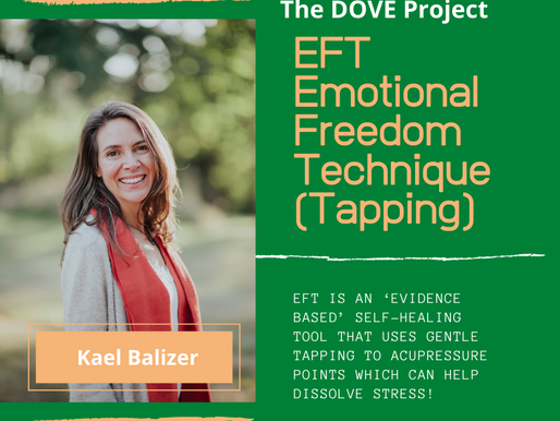 Holistic Wellness Offering!  EFT (Emotional Freedom Techniques - Tapping) with Kael Balizer.
