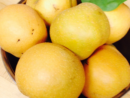 Asian Pears... so many Asian Pears