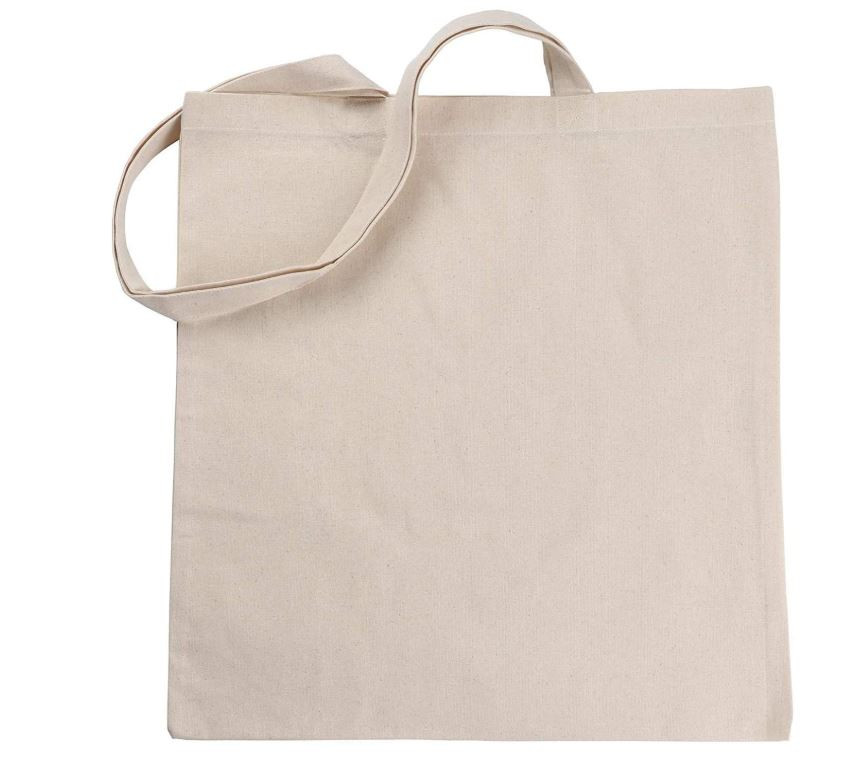 ATMOS GREEN BRAND 100% Natural Cotton Tote Bag
