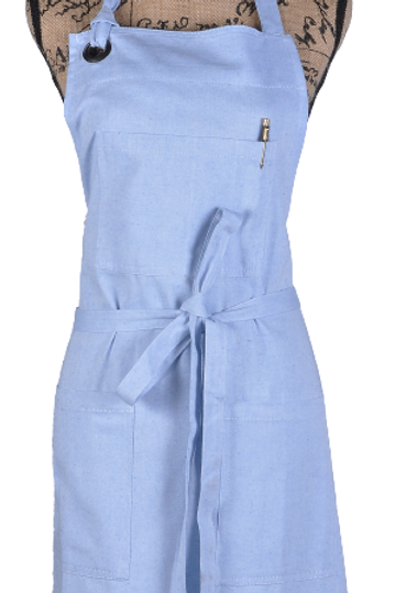 ATMOS GREEN 1 PACK RECYCLED COTTON APRON (SKY)