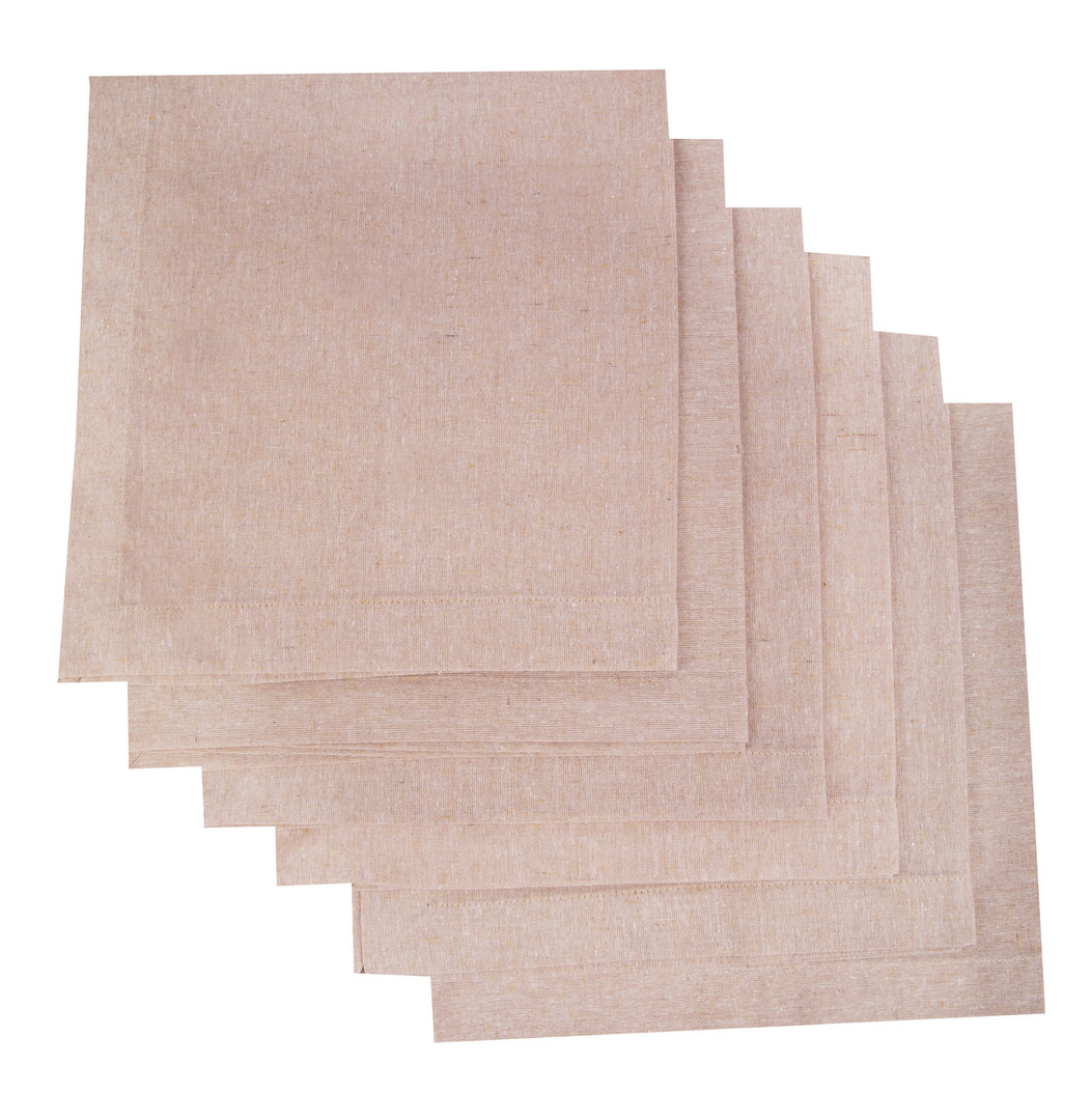 Atmos Green Recycled Cotton Napkins - Sand Color