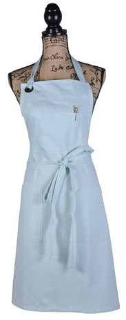 Atmos Green Recycled Cotton Apron - Azure Color