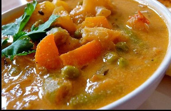 Mixed Vegetable Kuruma