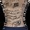 Thumbnail: ATMOS GREEN 3 PACK 3 POCKET DENIM COTTON WAITRESS APRON (INDIGO)