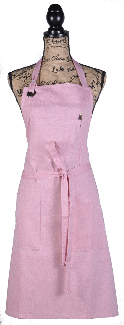 Atmos Green Recycled Cotton Apron - Rose Color