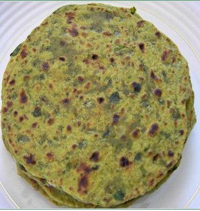 Methi Paratha (2)