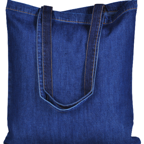 ATMOS GREEN 100 PACK RECYCLED COTTON BAGS (INDIGO)