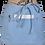 Thumbnail: ATMOS GREEN 3 PACK 3 POCKET DENIM COTTON WAITRESS APRON (ICE BLUE)