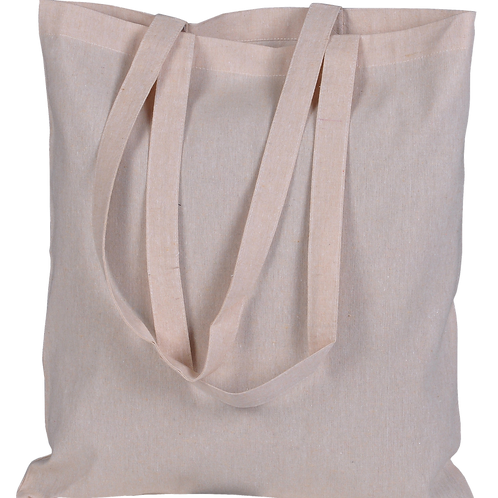 ATMOS GREEN 100 PACK RECYCLED COTTON BAGS (SAND)
