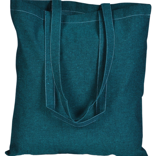 ATMOS GREEN 100 PACK RECYCLED COTTON BAGS (TEAL)