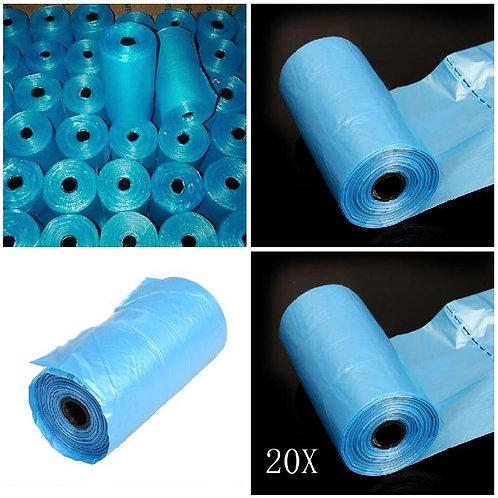 300pcs Biodegradable Pet Poop Bags - 20 Rolls - Eco-friendly