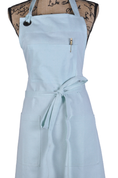 ATMOS GREEN 1 PACK RECYCLED COTTON APRON (GLACIER)