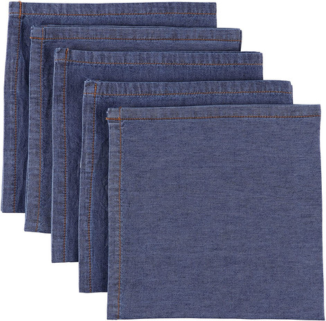 Atmos Green Denim Napkins