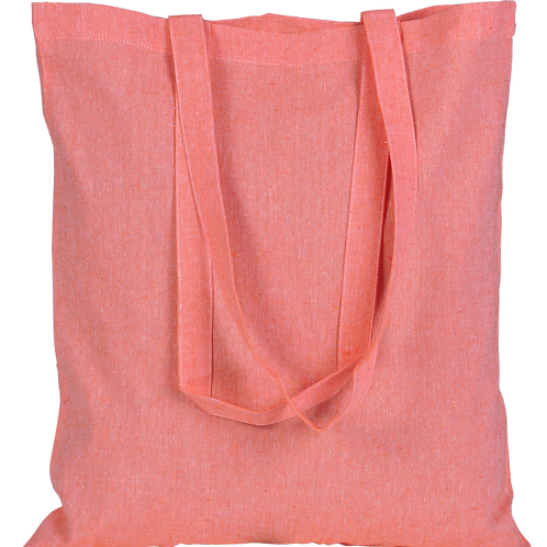 ATMOS GREEN 100 PACK RECYCLED COTTON BAGS (CORAL)