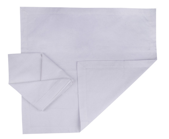 Atmos Green Recycled Cotton Napkins - White Color