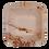 "Thumbnail: PALM LEAF PLATES - 3"" SQUARE BOWL - 200 PCs (ECO FRIENDLY/ DISPOSABLE)"