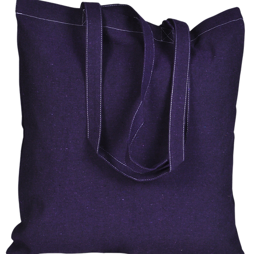 ATMOS GREEN 100 PACK RECYCLED COTTON BAGS (EGG PLANT)