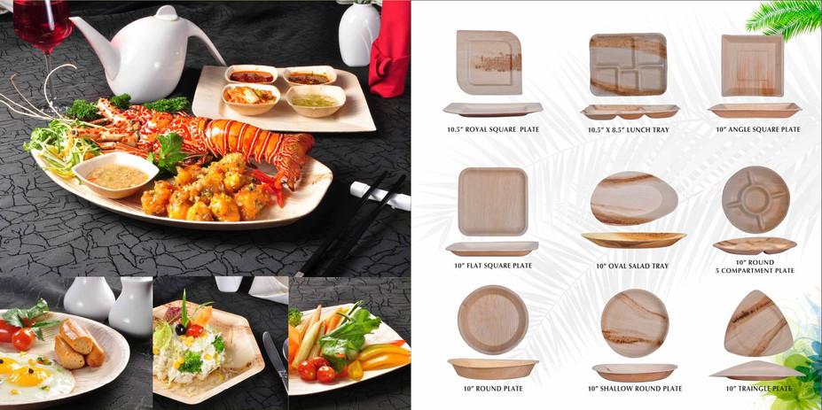 Palm Leaf Dinnerware