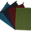 Thumbnail: ATMOS GREEN 4 PACK APPLE GREEN, GARNET, EGGPLANT & TEAL COLOR SHOE BAGS