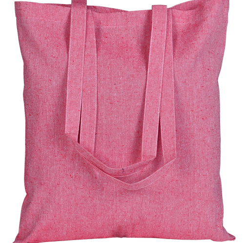 ATMOS GREEN 100 PACK RECYCLED COTTON BAGS (ROSE PINK)