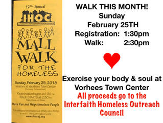 FEB. 25 - IHOC WALK FOR HOMELESSNESS