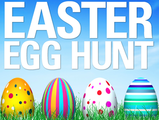 April 16th - Easter Sunday Puppet Show and Egg Hunt