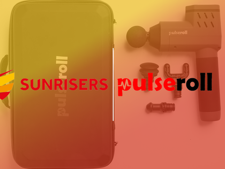 PULSEROLL BECOMES SUNRISER'S OFFICIAL MUSCLE RECOVERY PARTNER