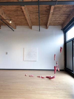 Sarah Nicole Knutson Bodily Ephemeral Sculpture Installation Minneapolis