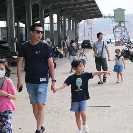 [工作坊日記]  漫步正濱港邊的繪本寫生