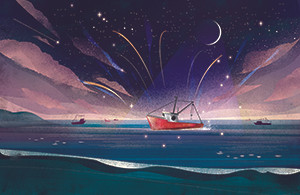 海的舞台 Stage on the sea