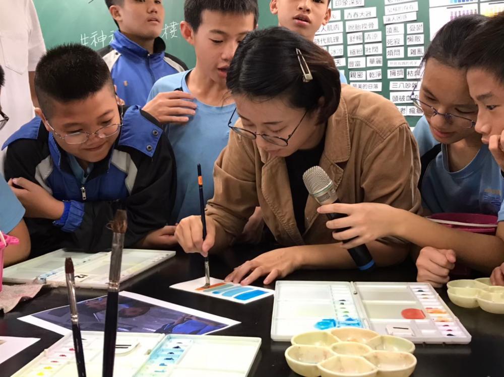 雨涵老師教學如何做出專屬自己的色彩票