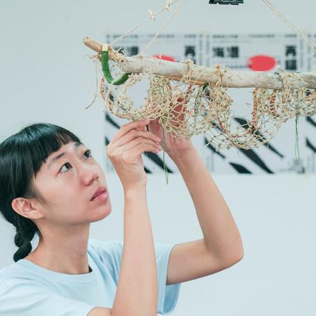 [工作營日記] 織一片大海|漁網再造設計