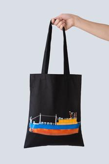 袋走我 鐵殼船