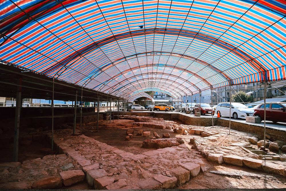 諸聖教堂考古遺址現場
