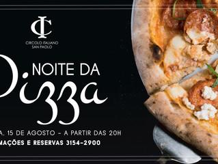 Noite da Pizza no Circolo Italiano!
