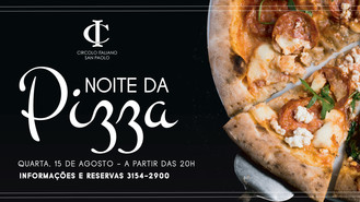 Noite da Pizza no Circolo Italiano!