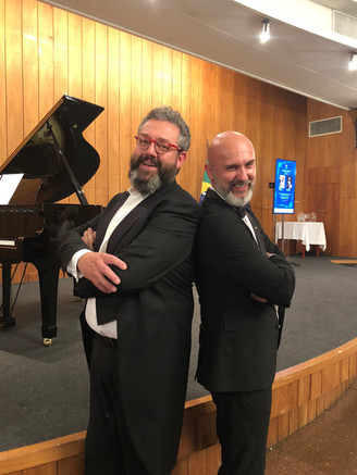 Músicos italianos encantam o público com um Concerto especial!