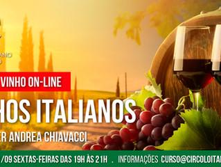Curso de Vinho 100% Online: VINHOS ITALIANOS!