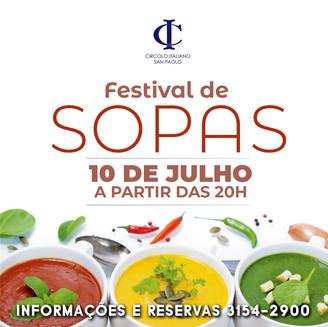 Festival de Sopas ganha nova edição em 2019