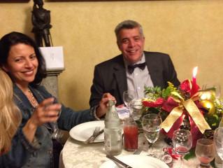 Alegria e amizade na confraternização da Diretoria do Circolo Italiano