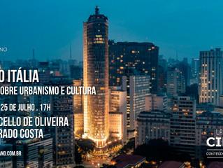 """La Bottega del Circolo: """"Edifício Itália: um livro sobre urbanismo e cultura"""""""